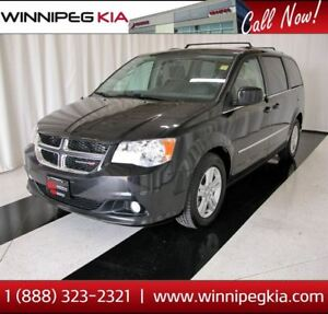 2016 Dodge Grand Caravan Crew *Always Owned In MB!*
