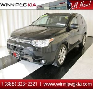 2014 Mitsubishi Outlander GT *7 Seat, Sunroof, Accident Free!*
