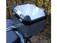 BMW R1200 GS Adventure LC Aluminium top box case made by Touratech for BMW, not Givi