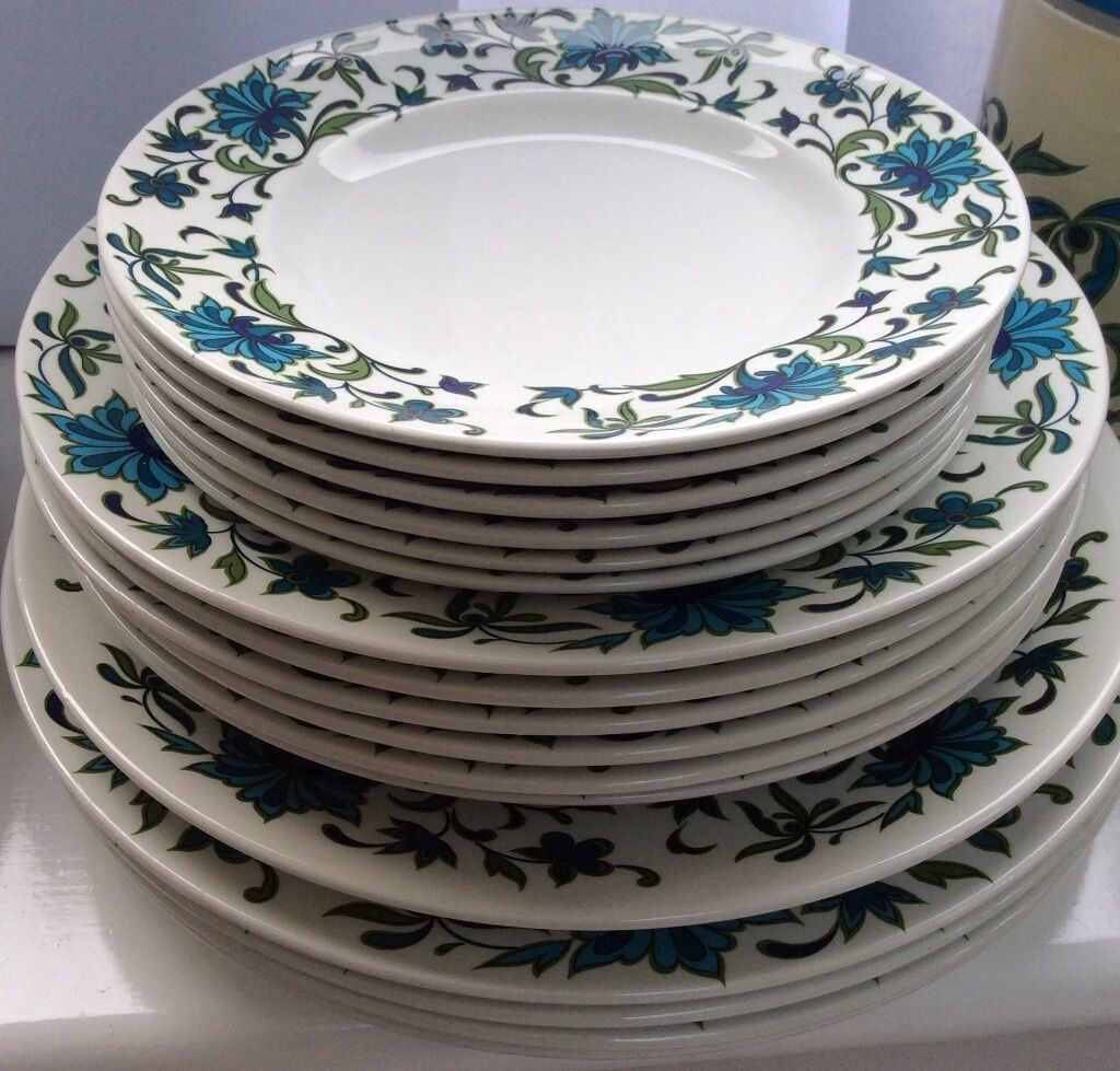 Midwinter Spanish Garden Crockery set - classic 1960/70u0027s china & Midwinter Spanish Garden Crockery set - classic 1960/70u0027s china | in ...