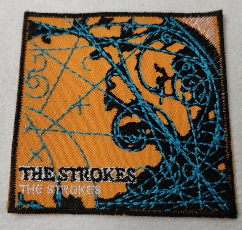 Embroidered PATCH Iron On Sew On THE STROKES