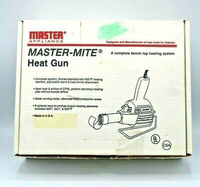 Master Appliance 10009 220v 500w Master-mite Heat Gun With Attached Stand Usa