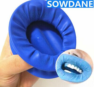 Dental Intraoral Rubber Dam Latex Dentistry Cheek Retractors Mouth Opener Blue