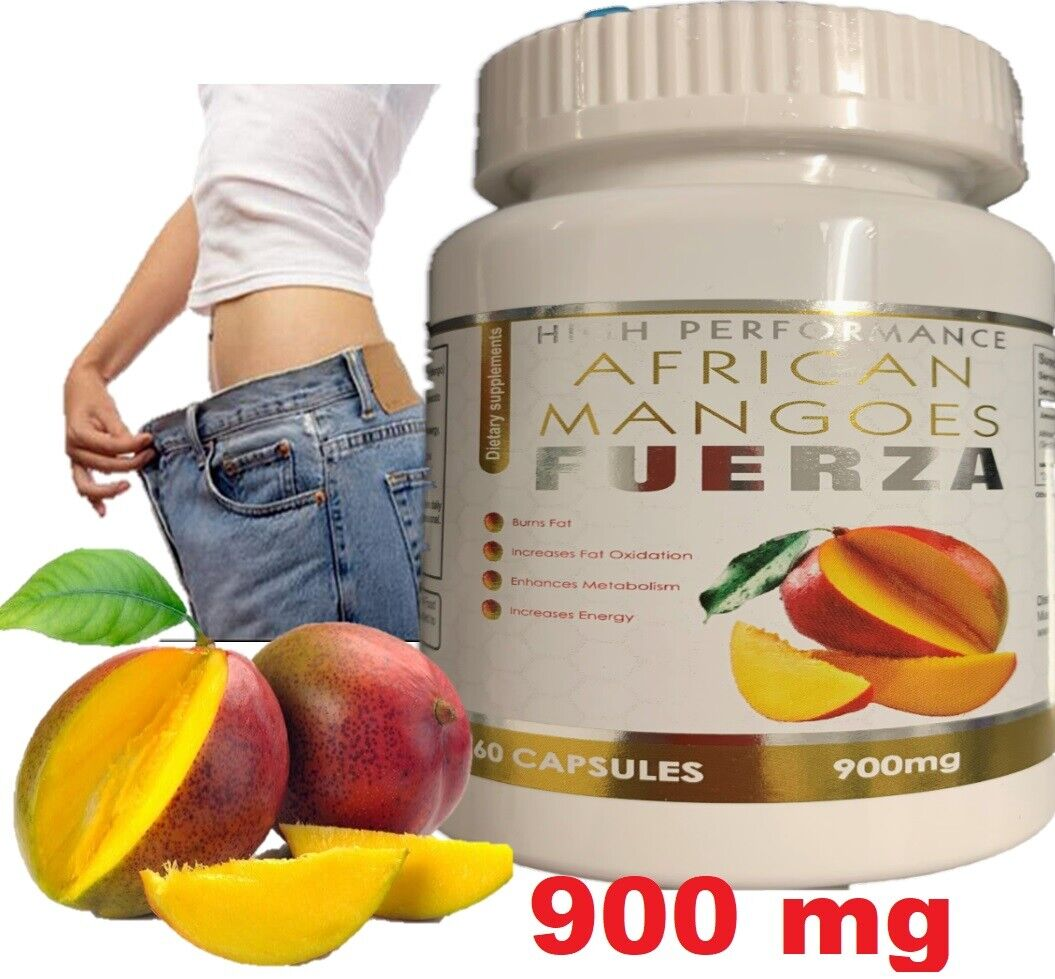 Extreme weight loss pills - PURE AFRICAN MANGO EXTRACT 900mg 1 Bottle 60 Caps 3