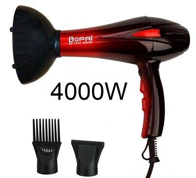 Secador de pelo profesional 4000w BP-5500 para 3 temperaturas 2 velocidades