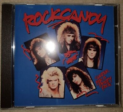 ROCK CANDY SUCKER FOR A PRETTY FACE CD UK LINK ORIGINAL hair metal rare aor glam