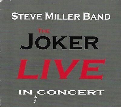 The Joker Live in Concert by Steve Miller Band (CD,