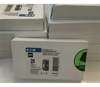 10 X Eaton Brp120af Plug On Neutral Combo Arc Fault Circuit Breaker 20 A