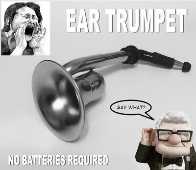 - Ear Trumpet Horn For The Hard Of Hearing Crowd.Great party gag gift!