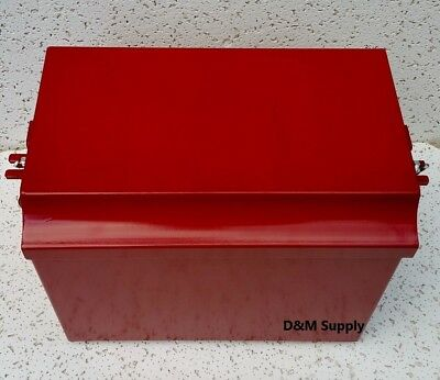 Tractor Painted Battery Box To Fit Deluxe Farmall Ih Super M Md Mv W6 Wd