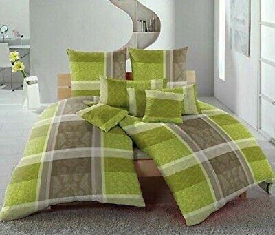 10tlg Bettwäsche Set Bettbezug 135x200 Kissen 80x80 40x80 40x40 Laken 90x200 NEU