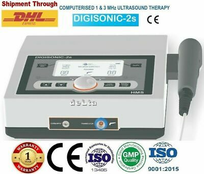 Digisonic 2s Computerised 13 Mhz Ultrasound Therapy Pain Relief Management Unit