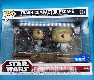 Funko POP! Star Wars Movie Moments #224 Trash Compactor Escape Walmart Exclusive
