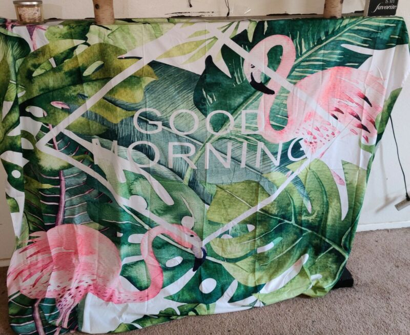 Tropical Paradise Party Banner