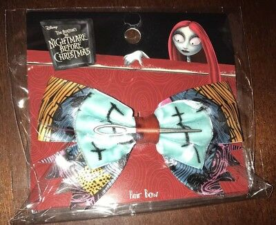 Nightmare Before Christmas Sally Hair Bow -NEW