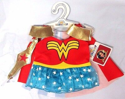 Build A Bear Workshop  Wonder Woman  Classic Costume 4 Pc  Item No  023311