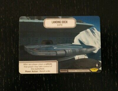 Star Wars Destiny Landing Dock Scipio Spot Gloss GenCon 2019 Full Plastic Promo!