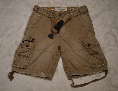 Vintage Abercrombie & Fitch Mens Cargo Shorts Size 31 for sale  Shipping to Canada