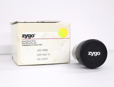 Zygo 6300-0170-01 100x Mirau Objective Lens