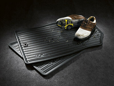 GENUINE OEM ACURA FACTORY ALL WEATHER FLOOR MAT SET 2009-2014 TL AWD - Acura Black Floor Mat