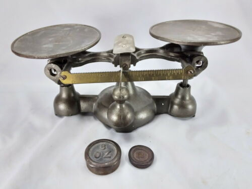 ANTIQUE PENN BAKERS SCALE SUPERB CONDITION!! LOOK! PHILADELPHIA, PA, USA