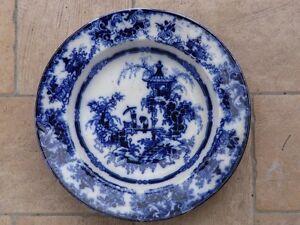 Piatto-inglese-colandine-marchio-034-Pagoda-034-prima-meta-XIX-sec