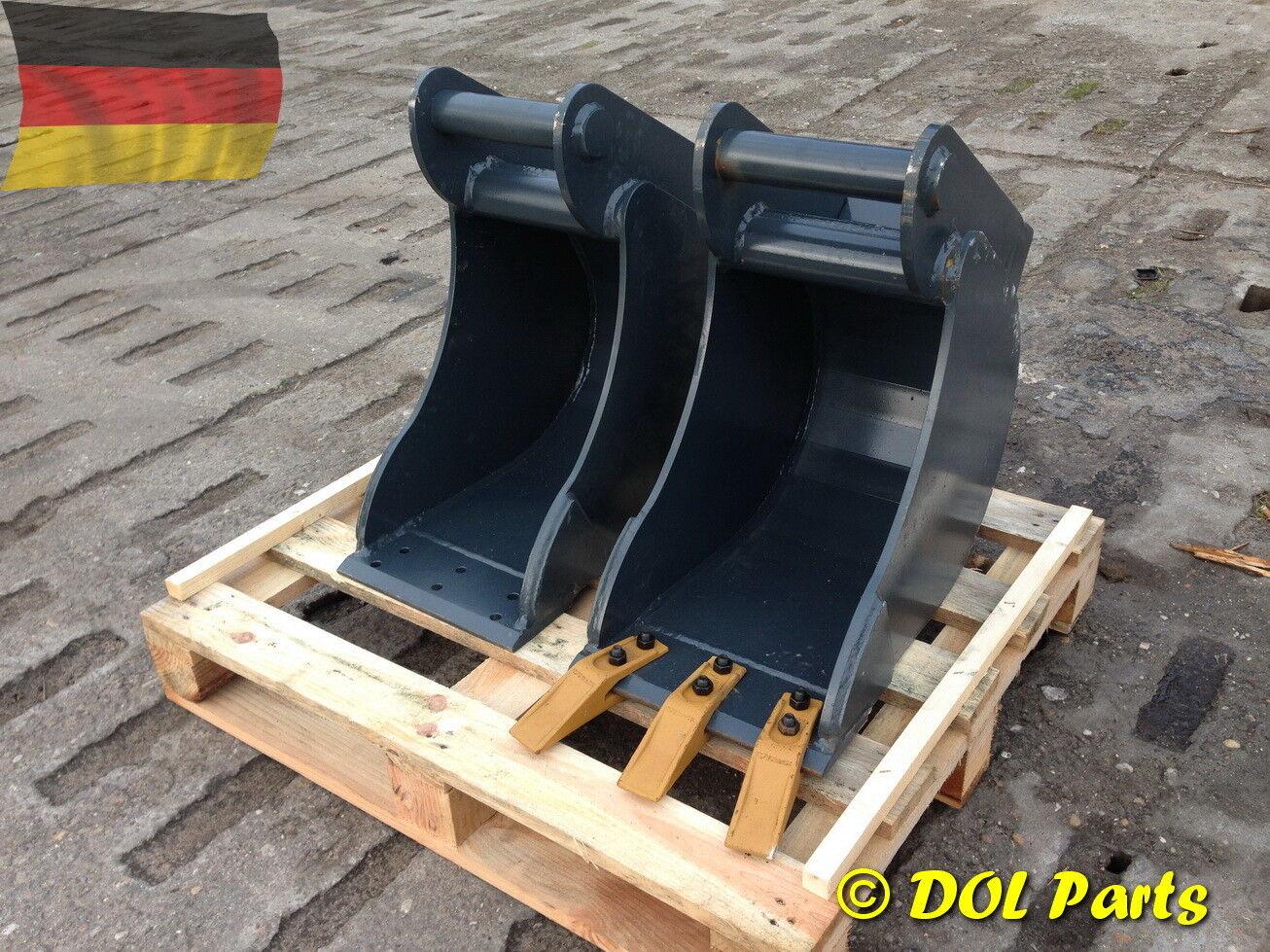 Tieflöffel Ms03 800 Mm Baggerlöffel Schaufel Minibagger Ms 03 800 Cm 4-6 T Baumaschinenteile & Zubehör Anbaugeräte