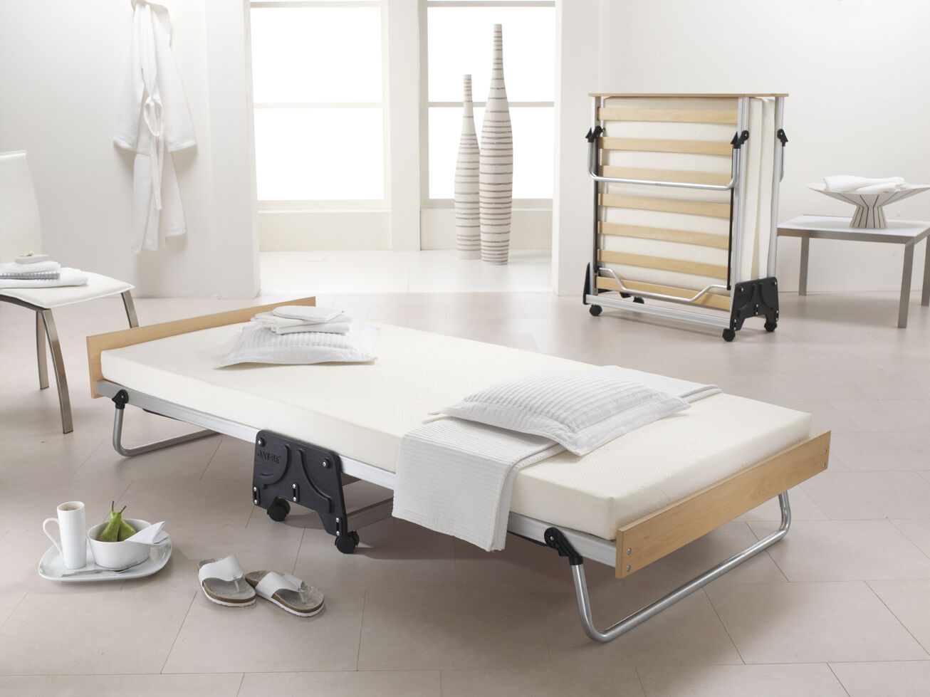 Jay Be J Bed Memory Folding Single Guest Bed with Memory ...