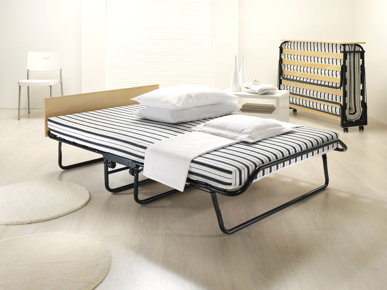 Jay Be Triumph Airflow Folding Double Guest Bed with ...