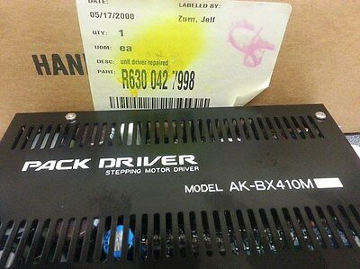Pack Driver Ak-bx410m Stepping Motor Driver Uic Pn 630 042 7998