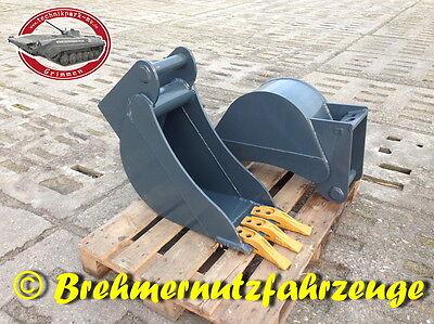 Tieflöffel Baggerlöffel Löffel MS03 30cm Schnittbreite für 3,5-6 t Bagger Löffel