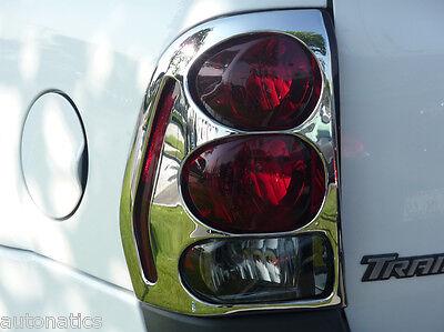 2002-2009 Chevrolet Trailblazer Chrome Taillight Cover