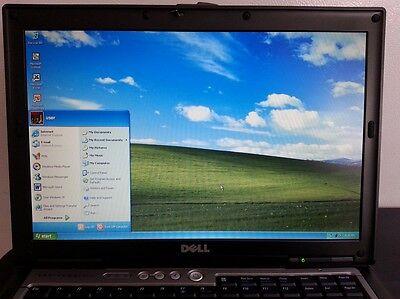 Dell Laptop D630 Duo Core Windows Xp Pro Microsoft Office Rs232 Serial Com Port