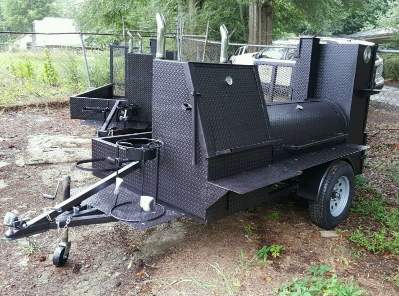 Grand Champion BBQ Mobile Catering Business Smoker Grill Trailer Food Cart Truck