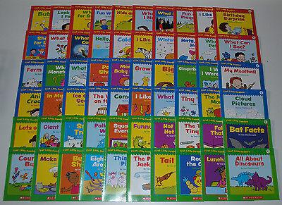 Huge Set 60 Level A B C Reading Books PreK Kindergarten Preschool Homeschool