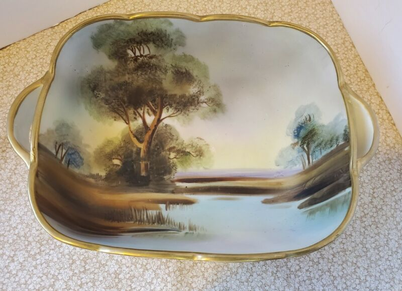 Vintage Nippon Hand Painted Bowl