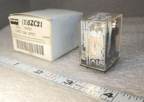 10 amp   8 pin  square Relay   24 VDC  5ZC21  unused
