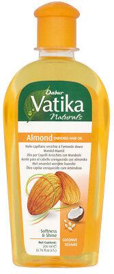 Dabur Vatika Almond Enriched Hair Oil (Haaröl anreichert mit Mandel) 200 ml