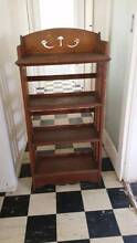 Wooden Bookcase Heathcote Sutherland Area Preview