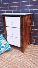 Shabby Chic Upcycled Bedside Table W Drawers Coogee Eastern Suburbs Preview