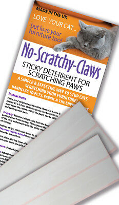 No Scratchy Claws 6* Pet Cat Scratching Tape Sofa Protector Cat Post Furniture
