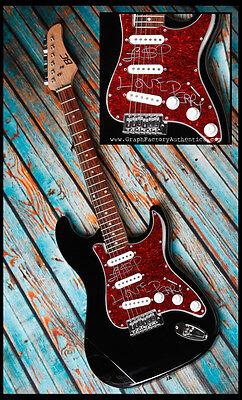 GFA Reggae Legend * LEE SCRATCH PERRY * Signed Electric Guitar PROOF COA