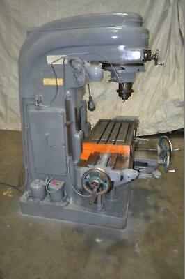 2 Kearney Trecker Milwaukee Vertical Mill Rpm 250 4000 Table 16 X 32