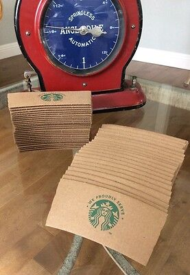 Starbucks To Go Coffee Cup Sleeves 2013 Mermaid Design Lot of 50 Free Shipping!