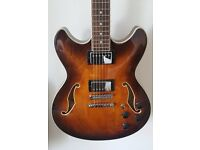 Ibanez AS73 - Tobacco Brown Hollow Body Electric Guitar