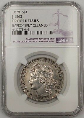 1878 Goloid Metric Silver Dollar 1 Us Pattern Coin Judd