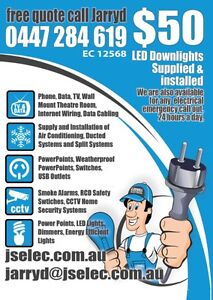 ELECTRICIAN HIGH QUALITY SERVICE Banksia Grove Wanneroo Area Preview