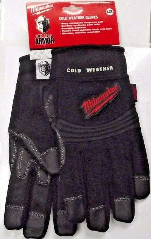 Milwaukee Gloves Demolition Gloves Job Site Armor 49-17-0151 Med