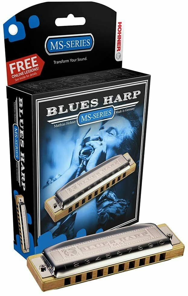 Hohner Blues Harp MS-Series 532BX-A Key Of A Harmonica Made In Germany - $39.99