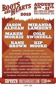 BOOTS AND HEARTS 2 WEEKEND GA PASS